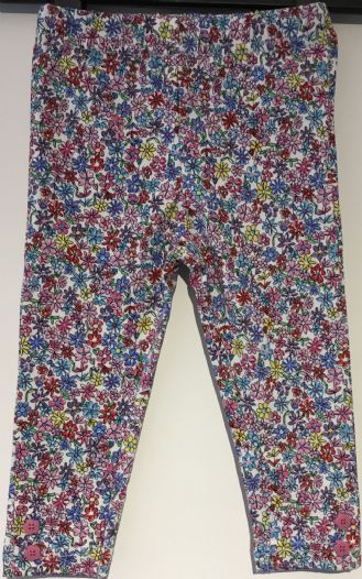 ex JOJO DAISY FLORAL GIRLS LEGGINGS 0-3m - 4-5yrs